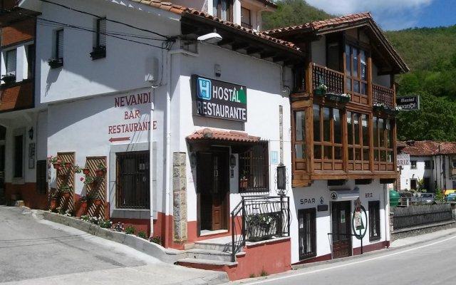 Отель Hostal Restaurante Nevandi вид на фасад