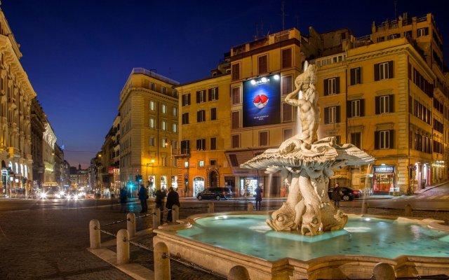 Отель Suite Artis Barberini Италия, Рим - отзывы, цены и фото номеров - забронировать отель Suite Artis Barberini онлайн вид на фасад