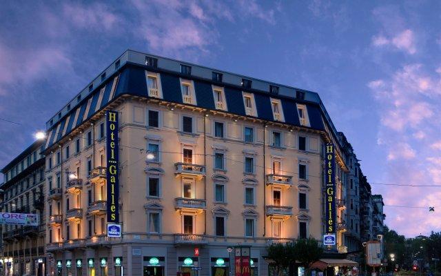 Отель Best Western Plus Hotel Galles Италия, Милан - 13 отзывов об отеле, цены и фото номеров - забронировать отель Best Western Plus Hotel Galles онлайн вид на фасад