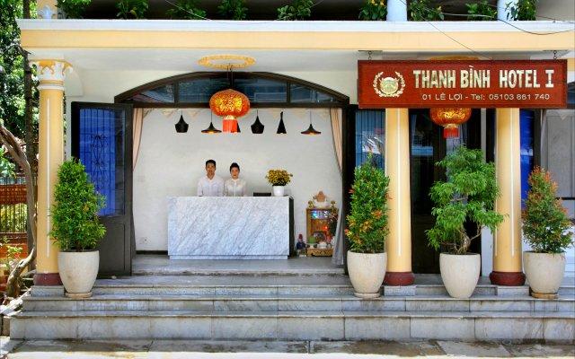 Thanh Binh 1 City Hotel Хойан вид на фасад