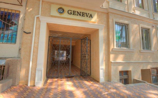 Гостиница Премьер Женева вид на фасад