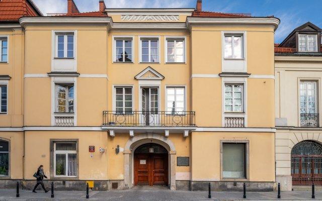 Апартаменты P&O Apartments Podwale вид на фасад