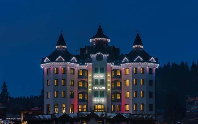 Отель Mardan Palace SPA Resort Буковель вид на фасад