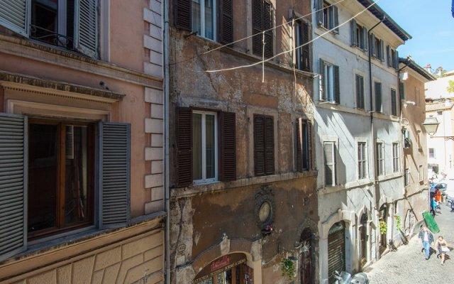 Отель Campo de' Fiori вид на фасад