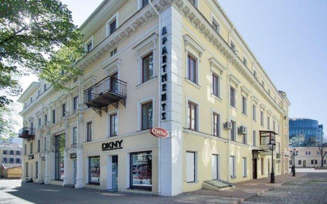 Deribas Hotel вид на фасад