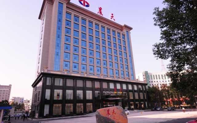 Zhangjiajie Chentian Hotel вид на фасад