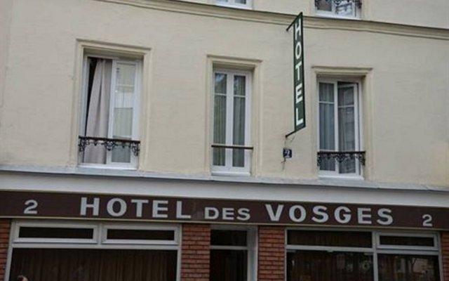 Отель des Vosges Франция, Париж - отзывы, цены и фото номеров - забронировать отель des Vosges онлайн вид на фасад