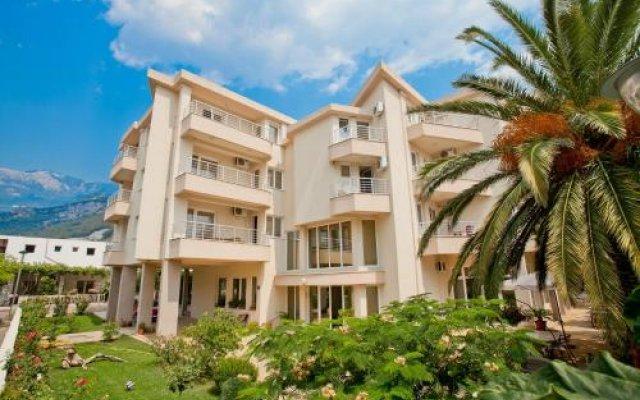 Отель Residence Celebic-radovic Будва вид на фасад