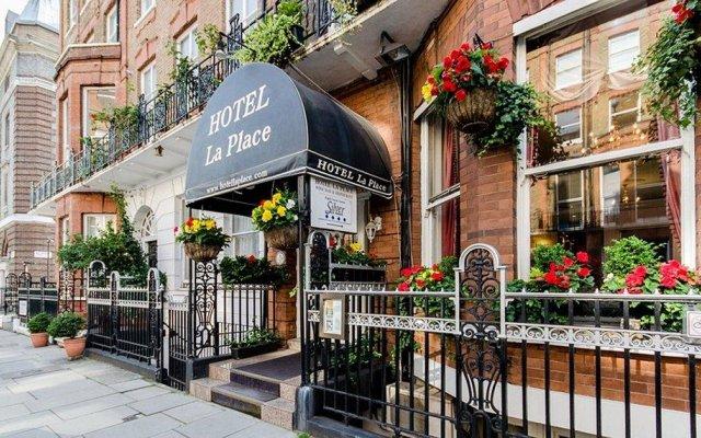Отель La Place Великобритания, Лондон - отзывы, цены и фото номеров - забронировать отель La Place онлайн вид на фасад