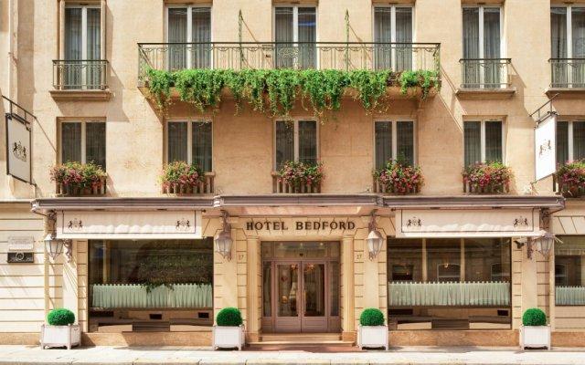 Отель Hôtel Bedford вид на фасад