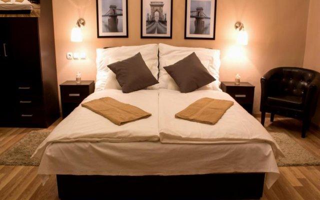 Отель Budapest Ville Bed And Breakfast Будапешт комната для гостей