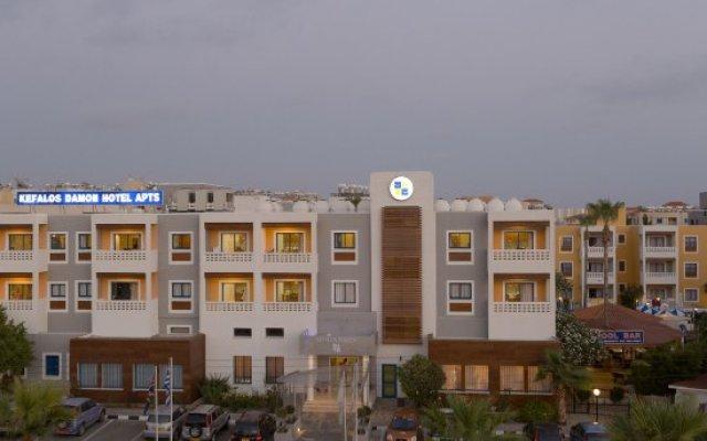 Damon Hotel Apartments вид на фасад