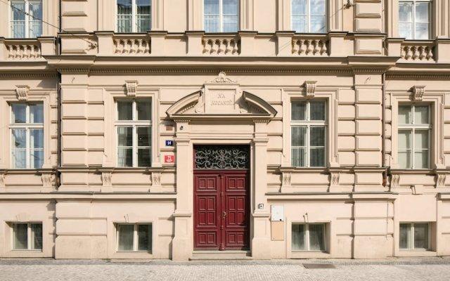 Отель Quentin Prague вид на фасад