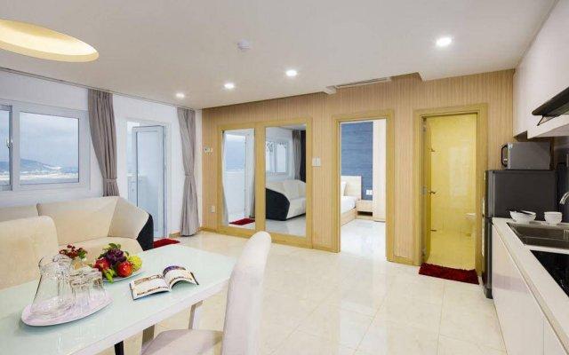 Апартаменты Mihaco Luxury Apartment в номере