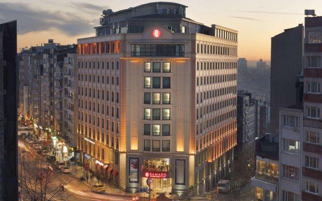 Отель Ramada Plaza By Wyndham Istanbul City Center