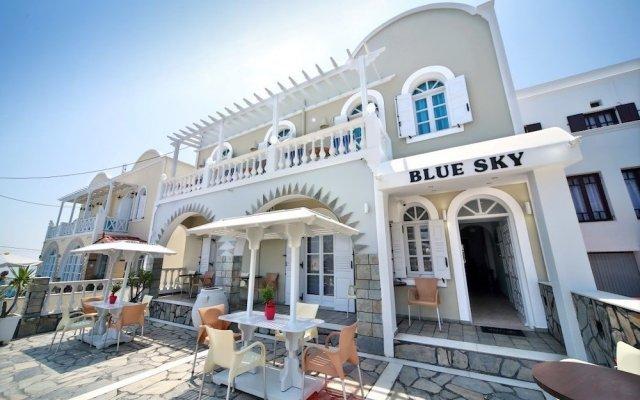 Отель Blue Sky Hotel Греция, Остров Санторини - отзывы, цены и фото номеров - забронировать отель Blue Sky Hotel онлайн вид на фасад