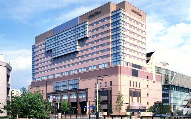 Okura Hotel Fukuoka Фукуока вид на фасад