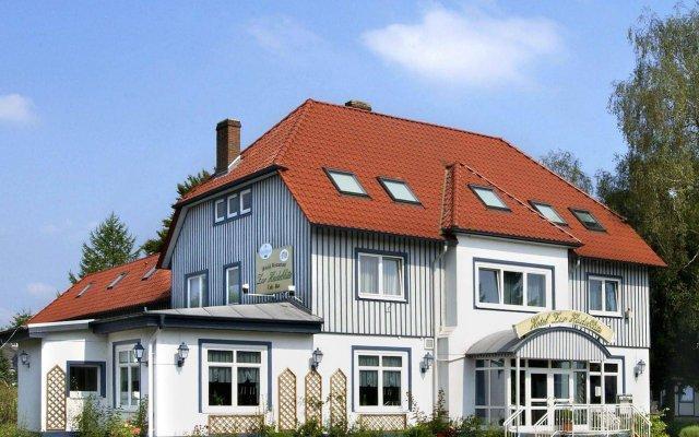 Hotel zur Heideblüte вид на фасад
