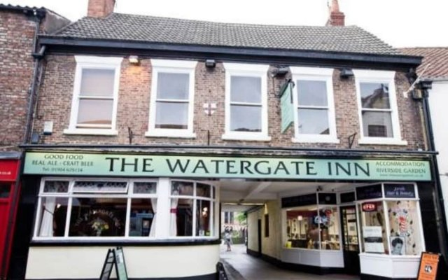 Отель The Watergate Inn вид на фасад