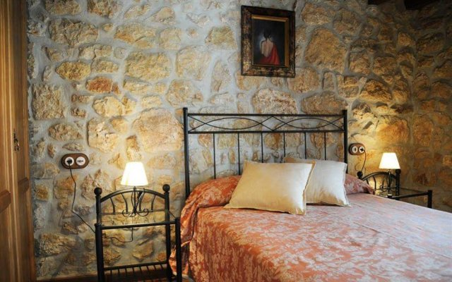 Отель Apartamentos Rurales El Tio Pablo Тресвисо комната для гостей