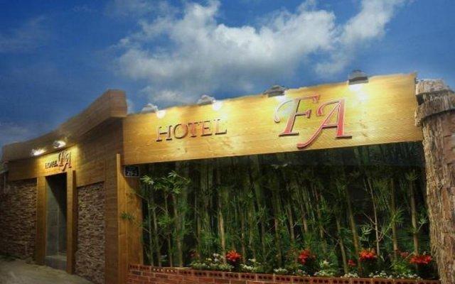 Hotel Fa 2 вид на фасад