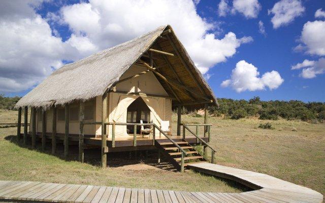 Отель Gorah Elephant Camp вид на фасад