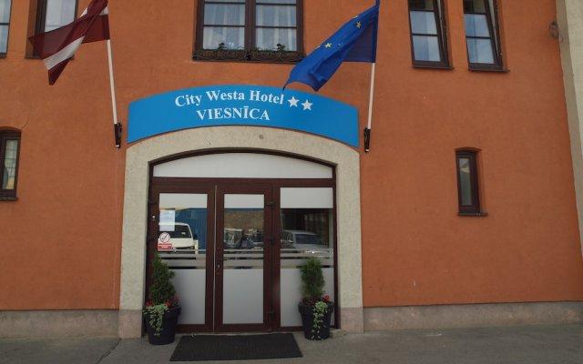 City Westa Hotel вид на фасад