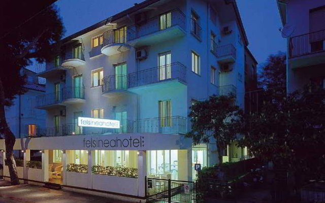 Отель Felsinea Италия, Римини - отзывы, цены и фото номеров - забронировать отель Felsinea онлайн вид на фасад