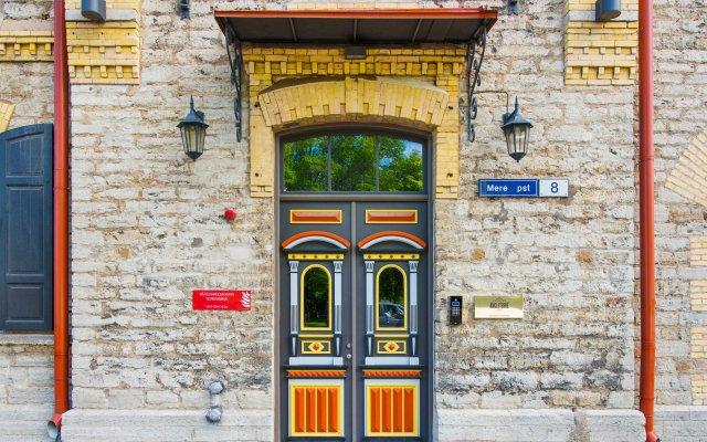 Отель Angleterre Apartments Эстония, Таллин - 2 отзыва об отеле, цены и фото номеров - забронировать отель Angleterre Apartments онлайн вид на фасад