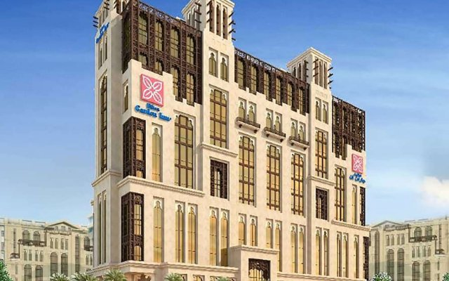 Отель Hilton Garden Inn Dubai Al Jadaf Culture Village вид на фасад