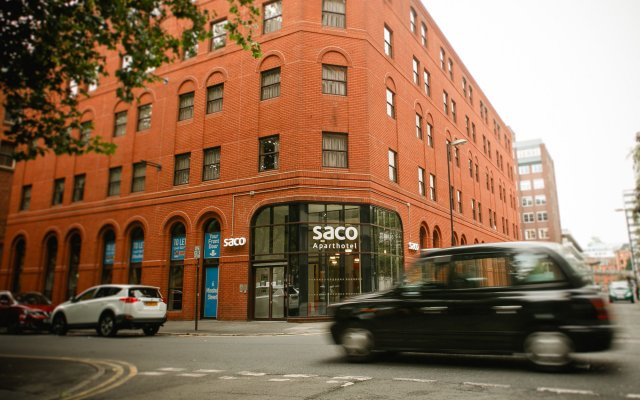 Отель SACO Manchester - Piccadilly Великобритания, Манчестер - отзывы, цены и фото номеров - забронировать отель SACO Manchester - Piccadilly онлайн вид на фасад