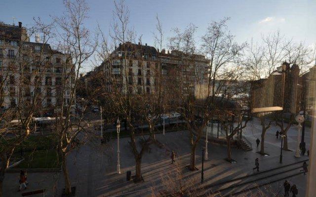Отель Pension Alameda Испания, Сан-Себастьян - отзывы, цены и фото номеров - забронировать отель Pension Alameda онлайн вид на фасад
