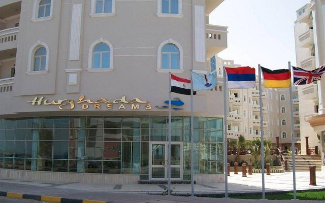 Hurghada Dreams Hotel Apartments вид на фасад