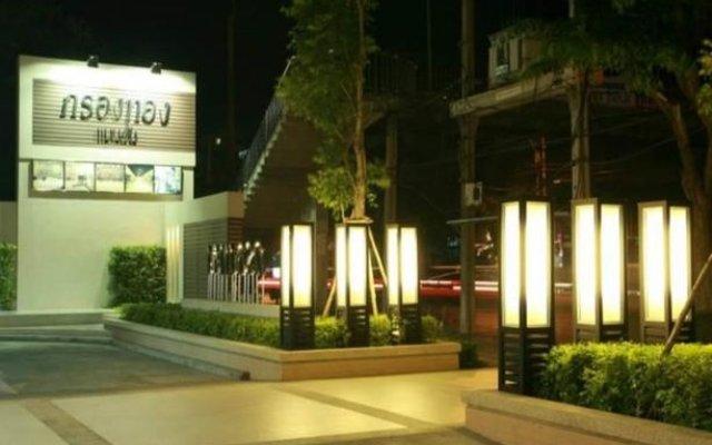 Kt Mansion & Hotel Бангкок вид на фасад