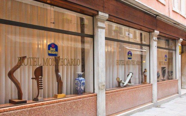 Hotel Montecarlo Венеция вид на фасад