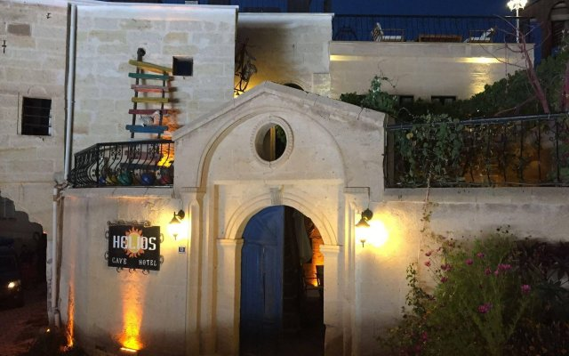 Helios Cave Hotel Ургуп вид на фасад