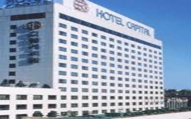 Отель Capital Itaewon Сеул вид на фасад