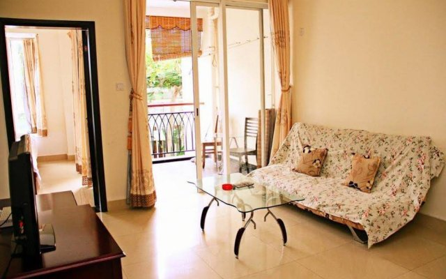 Апартаменты Sanya Jiji Island Holiday Apartment комната для гостей
