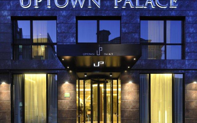 Отель Uptown Palace вид на фасад