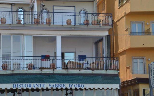 Отель Terrazza sul Mare Джардини Наксос вид на фасад
