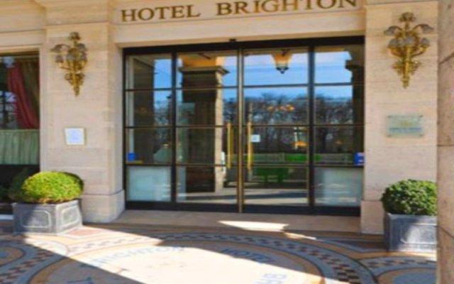Отель Brighton Франция, Париж - 1 отзыв об отеле, цены и фото номеров - забронировать отель Brighton онлайн вид на фасад