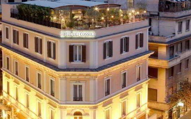 Отель Dei Consoli Vatikano Dependance вид на фасад