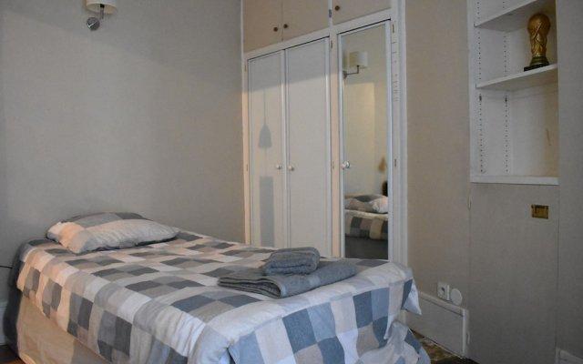 Апартаменты 1 Bedroom Apartment in 16th Arrondissement Париж комната для гостей