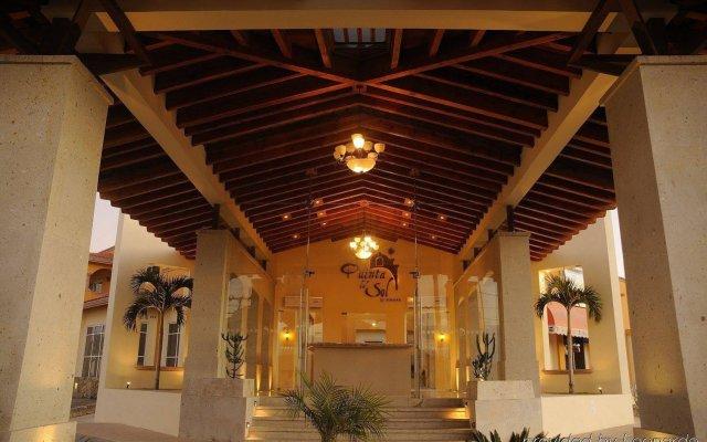 Отель Quinta del Sol by Solmar вид на фасад