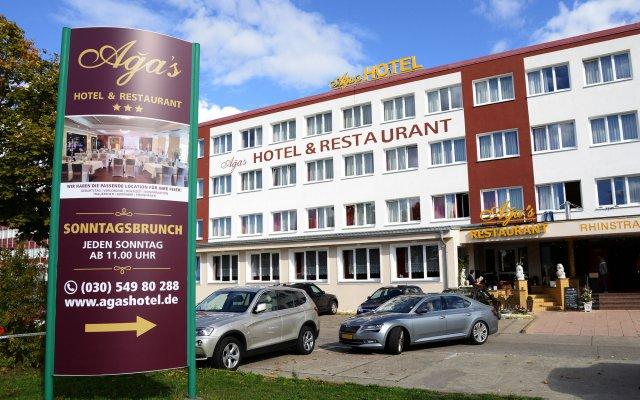 The Aga's Hotel Berlin вид на фасад