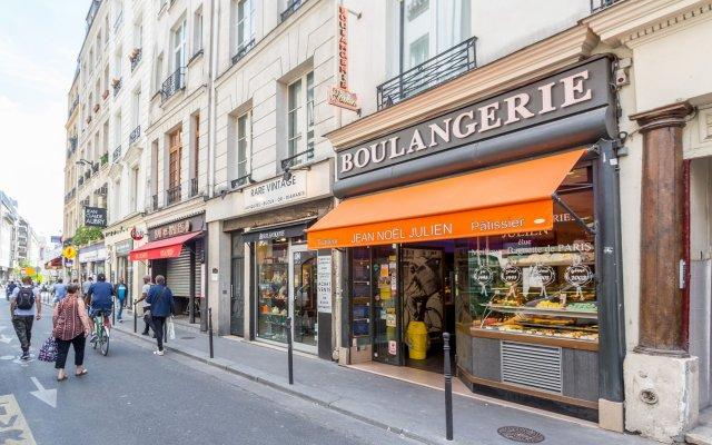 Апартаменты Apartment Ws Louvre - Saint Honoré Париж вид на фасад