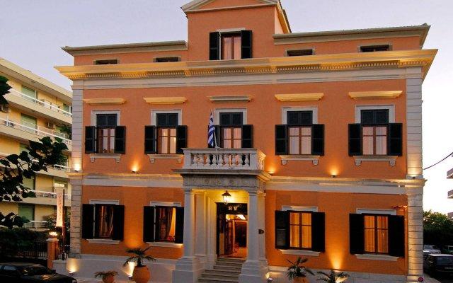 Отель Bella Venezia Корфу вид на фасад