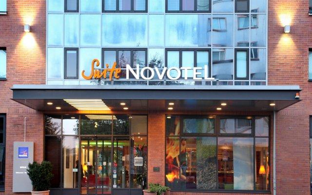 Отель Novotel Suites Berlin City Potsdamer Platz вид на фасад