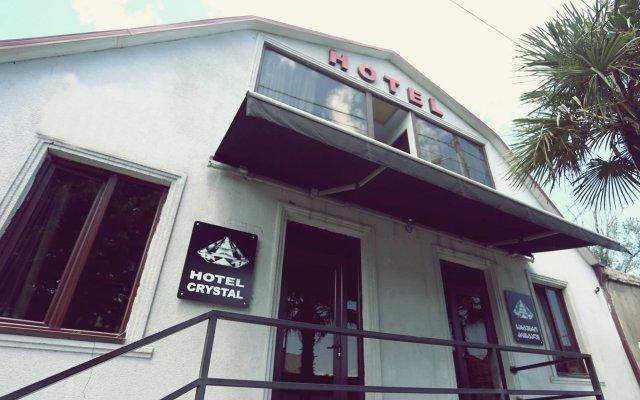Отель Crystal Palace вид на фасад