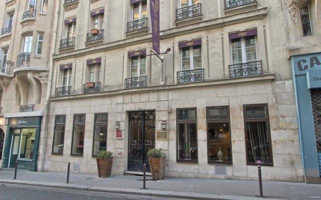 Отель Hôtel Villa Margaux вид на фасад